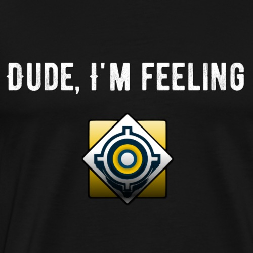 Feeling Perfect (White) - Men's Premium T-Shirt