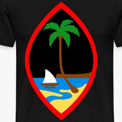 Seal of the island - Men's Premium T-Shirt