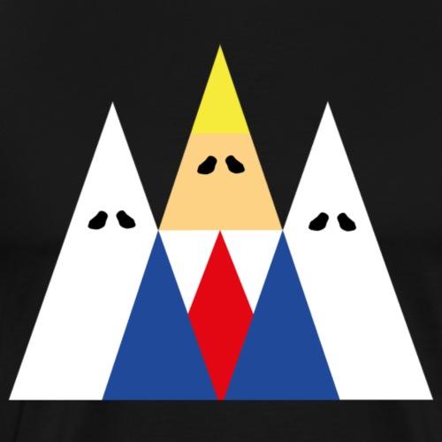 logo triangular de kk - Men's Premium T-Shirt