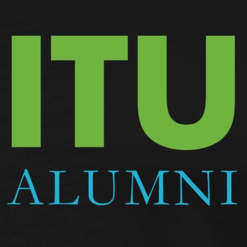 ITU Alumni Logo - Men's Premium T-Shirt