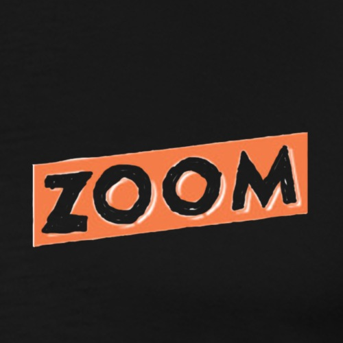 ZOOM LOGO - Men's Premium T-Shirt