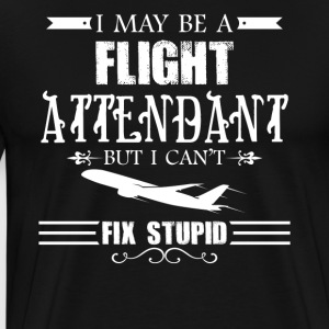 Flight Attendant Shirt - Men's Premium T-Shirt