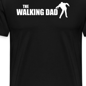 The DAD WALKING - Men's Premium T-Shirt