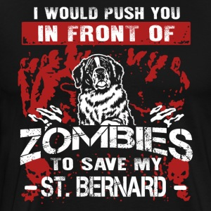 Save My St Bernard Shirts - Men's Premium T-Shirt