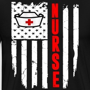 Nurse Flag - Men's Premium T-Shirt