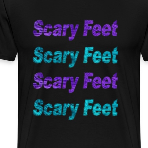 Monster's Inc Scary Feet - Men's Premium T-Shirt