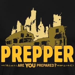 Prepper Preppers Survival - Are you prepared? - Men's Premium T-Shirt
