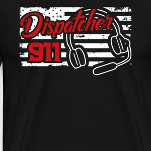 Dispatcher 911 Shirt - Men's Premium T-Shirt