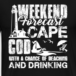Cape Cod Weekend Forecast Shirts - Men's Premium T-Shirt
