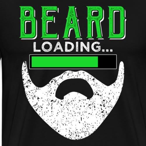 BEARD loading... Funny Beard Quotes - Men's Premium T-Shirt