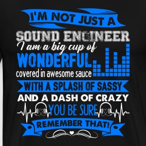 Sound Engineer Tee Shirt - Men's Premium T-Shirt