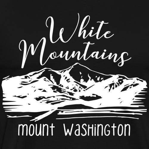 Mount Washington, White Mountains, NH - Men's Premium T-Shirt