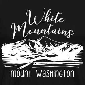 Mount Washington, White Mountains, NH - Men's Premium T-Shirt