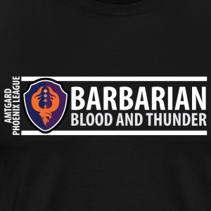Shield Series: Barbarian - Men's Premium T-Shirt