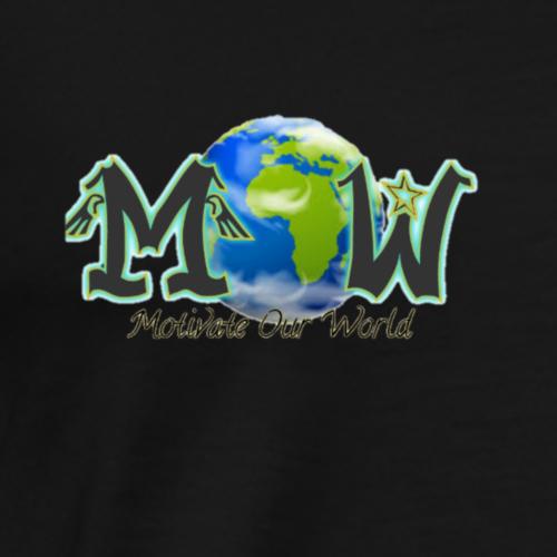 MOW: Motivate Our World logo - Men's Premium T-Shirt