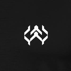 Kay Supply Company Logo Simple White - Men's Premium T-Shirt