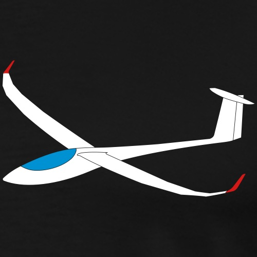 Sailplane glider gift present Jonker Js3 - Men's Premium T-Shirt