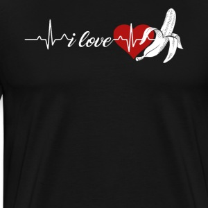 Banana Heartbeat Shirts - Men's Premium T-Shirt