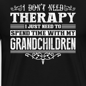 Spend Time With My Grandchildren Shirt - Men's Premium T-Shirt