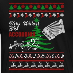 Accordion Christmas Shirt - Men's Premium T-Shirt