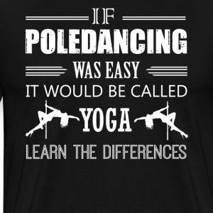 Pole Dance Shirt - Men's Premium T-Shirt