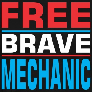 Free Brave Mechanic - Men's Premium T-Shirt