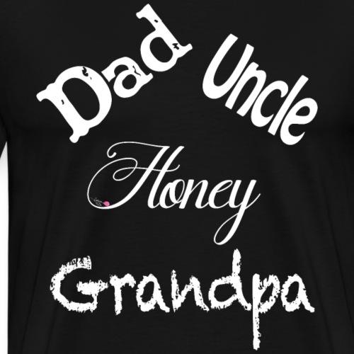 Dad's Nick names - White - Men's Premium T-Shirt