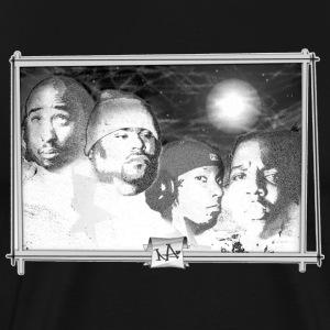 Mt. Rushmore of Rap - Men's Premium T-Shirt
