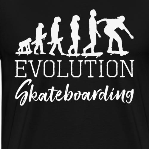 EVOLUTION SKATEBOARDING - Men's Premium T-Shirt