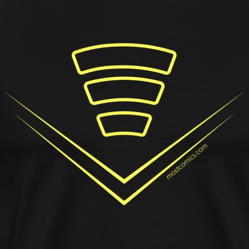 Echo's Soundwave/E - Men's Premium T-Shirt