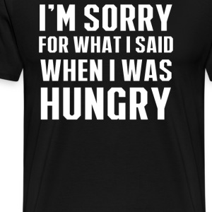 Hungry Apology - Men's Premium T-Shirt