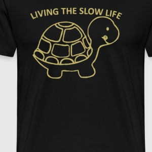 Living the slow life - Men's Premium T-Shirt