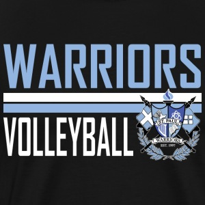 St Paul Warrior Volleyball Design 4 - Men's Premium T-Shirt