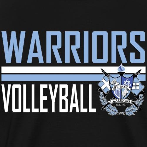 St Paul Warrior Volleyball Design 4 - Men's Premium T-Shirt