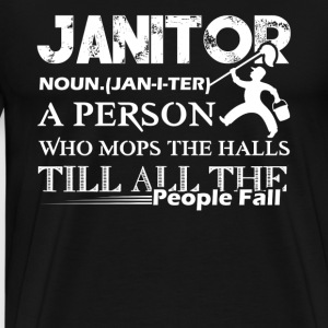 Awesome Janitor Shirts - Men's Premium T-Shirt