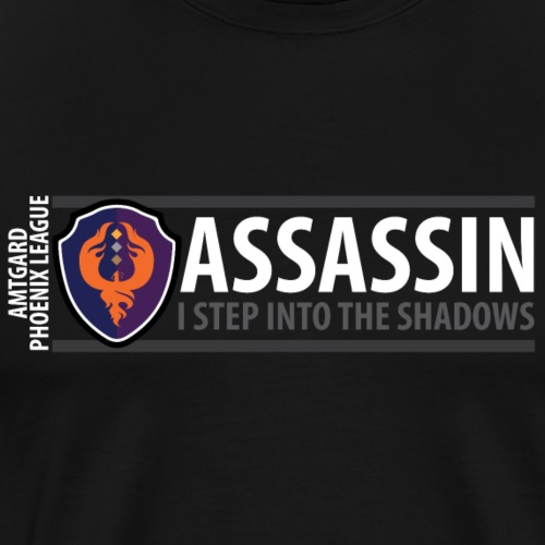 Shield Series: Assassin - Men's Premium T-Shirt