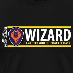 Shield Series: Wizard - Men's Premium T-Shirt