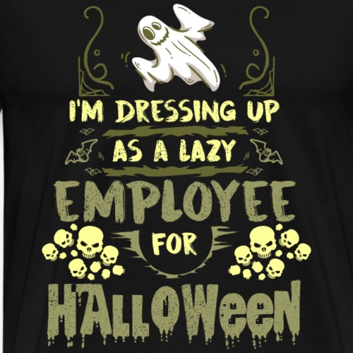Halloween Lazy Employee - Men's Premium T-Shirt