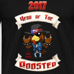 2017YearOfTheRooster - Men's Premium T-Shirt