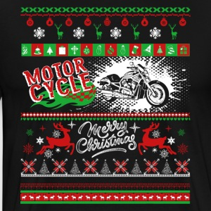 Motorcycle Shirt - Motorcycle Christmas Shirt - Men's Premium T-Shirt