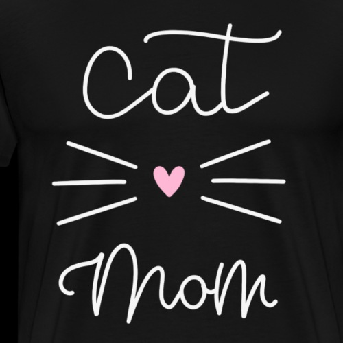 CAT MOM OF THE YEAR - Men's Premium T-Shirt