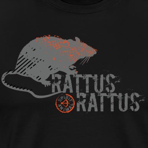Spirit Animal Rat (Archery by BOWTIQUE) - Men's Premium T-Shirt