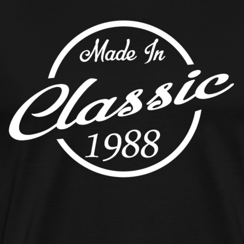 Classic Made in 1988 30th Birthday Gift - Men's Premium T-Shirt