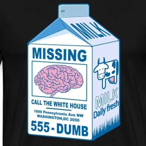 Missing Brain - Men's Premium T-Shirt