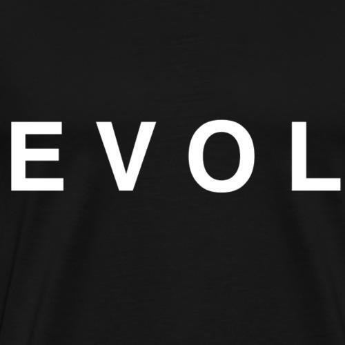 Evol - White lettering - Men's Premium T-Shirt