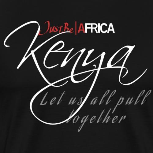 Kenya Sleek - Dark - Men's Premium T-Shirt