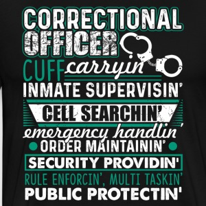 CORRECTIONAL OFFICERS SHIRT - Men's Premium T-Shirt