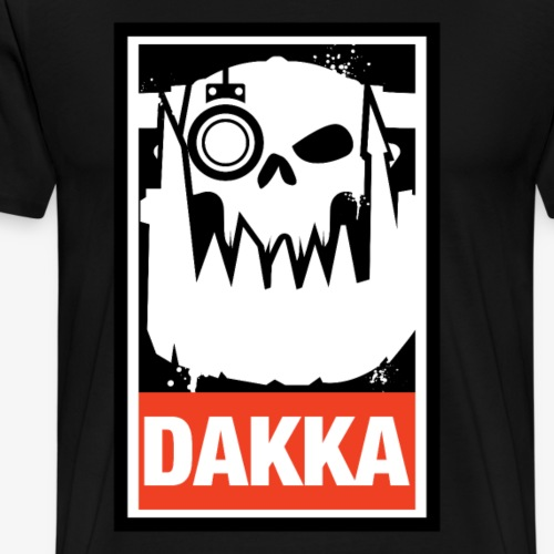 Dakka Orks Greenskins 40k - Men's Premium T-Shirt