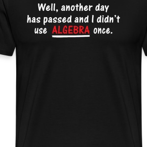 Algebra Once - Men's Premium T-Shirt
