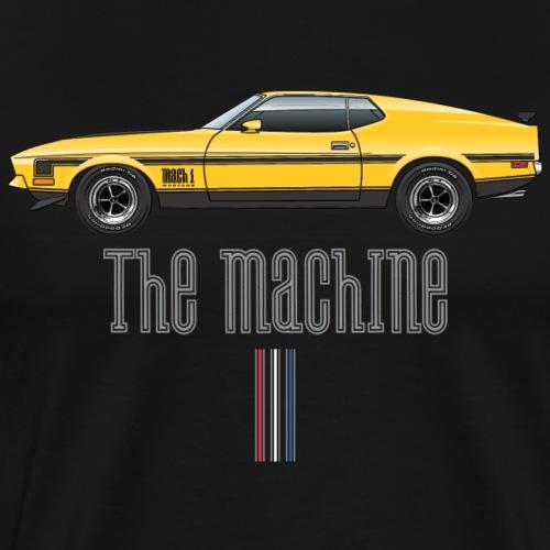 mach yellow - Men's Premium T-Shirt